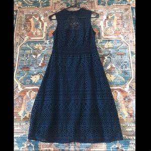 Jessica Simpson Navy A-Line Dress
